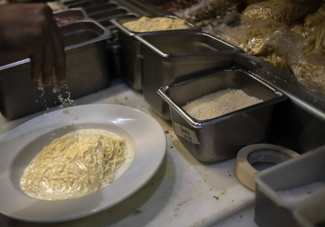 Cacio e Pepe is one of the many classic pasta dishes served up at Spaghetty Western in the Sout ...