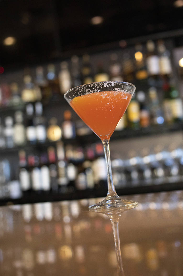 An aperitif sits on the counter at Spaghetty Western on Friday, Oct. 25, 2019, at the Southern ...
