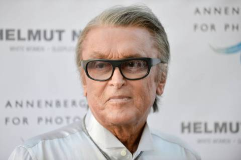"This June 27, 2013 file photo shows Robert Evans at ""Helmut Newton: White Women - Sleepless Nig ..."