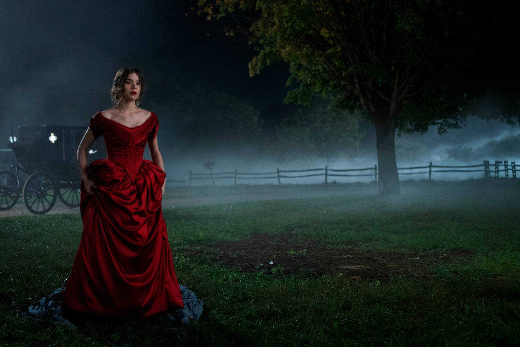 "Hailee Steinfeld in ""Dickinson,"" premiering November 1 on Apple TV+. (Apple)"