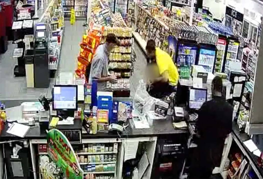 Video surveillance from an Oct. 4, 2019, convenience store robbery on the 500 block of East Sah ...