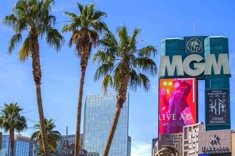 MGM Resorts International is in a new sports betting collaboration with Yahoo Sports. (Benjamin ...