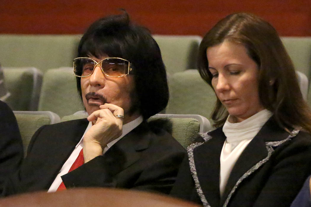 Sam Aldabbagh, owner of the Can Can Room strip club, listens to arguments from attorneys for Th ...