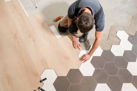 Quirky tiling can require a lot of effort and money to replace. (Getty Images)