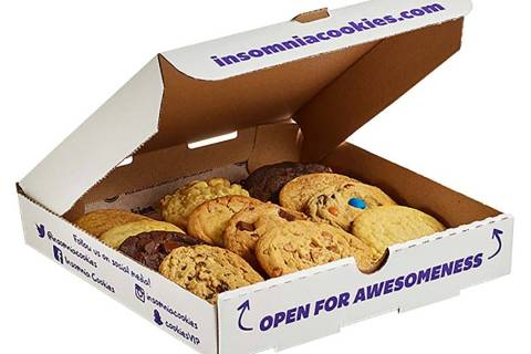 Insomnia Cookies will give a free traditional cookie to anyone who comes into the store wearing ...