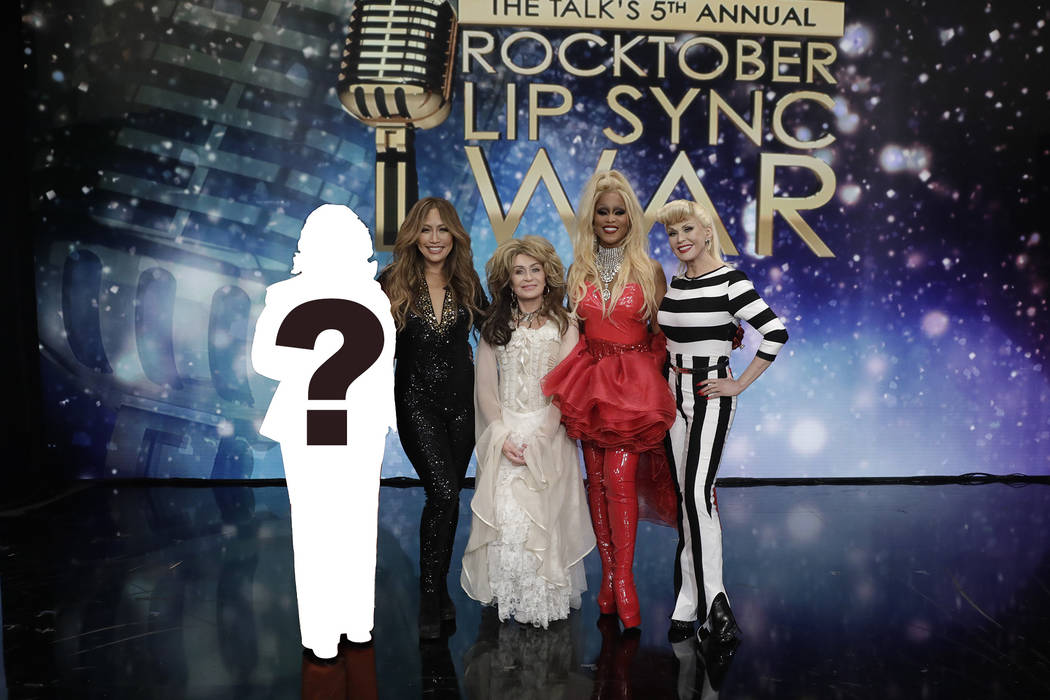"""The CBS daytime talk show """"The Talk"""" celebrates Halloween with its 5th Annual Rocktober Lip Syn ..."""