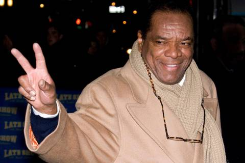 "In this Dec. 21, 2009, file photo, John Witherspoon leaves a taping of ""The Late Show with Davi ..."