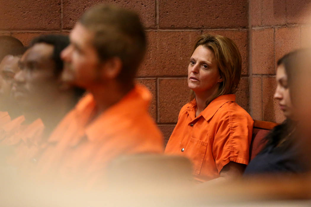 Jennifer Stitt, 50, accused of driving a large RV into front door of the Cannery in North Las V ...