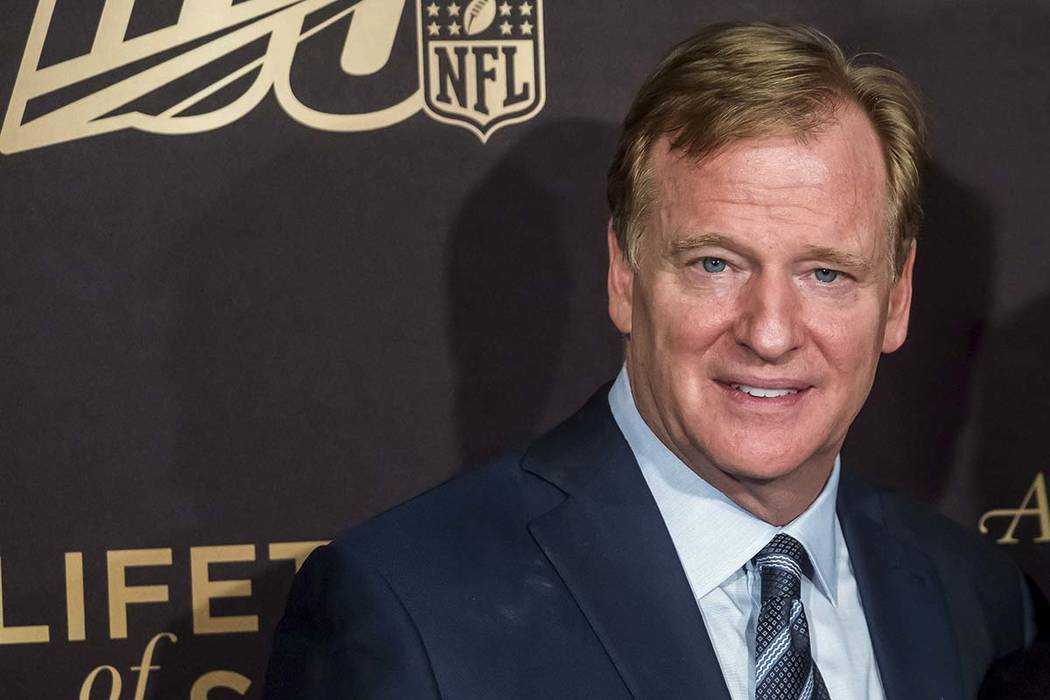 """Roger Goodell attends a screening of """"A Lifetime of Sundays"""" at The Paley Center for ..."""