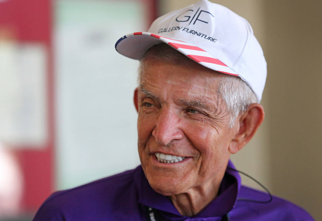 """Jim """"Mattress Mack"""" McIngvale, locally famous for philanthropy and his commercials fo ..."""
