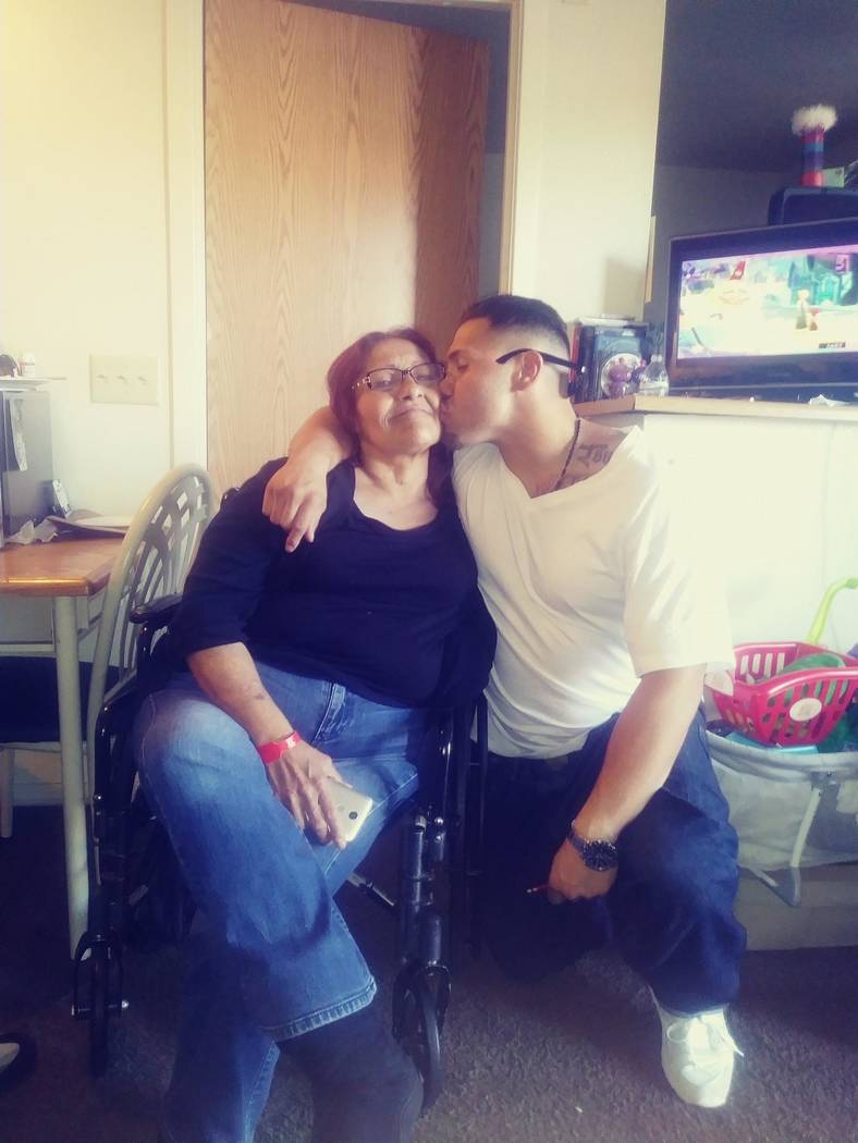 Armando Gamboa is pictured with his mother, Rosa Contreras, in an undated family photo. (Marice ...
