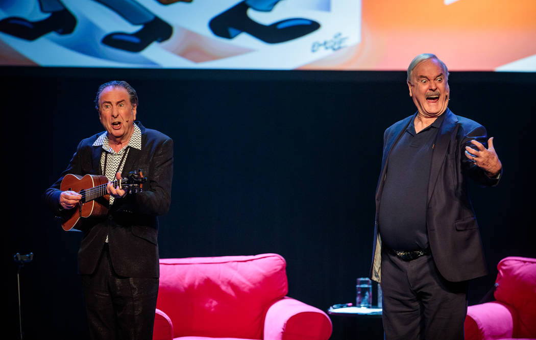 """Eric Idle and John Cleese present """"Together Again At Last … For the Very First Time"""" at T ..."""