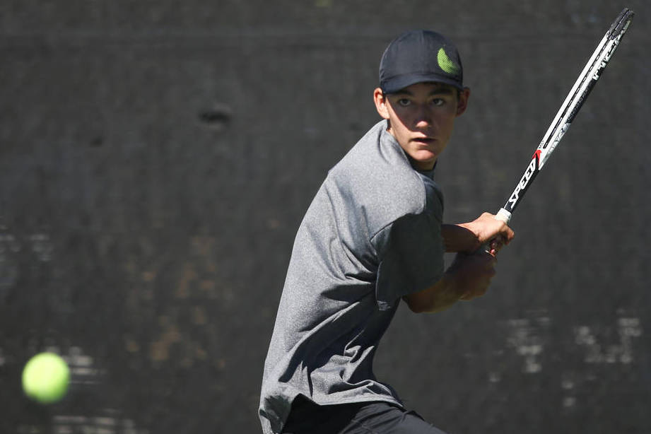 Palo Verde's Axel Botticelli is a member of the Nevada Preps all-state boys tennis team.