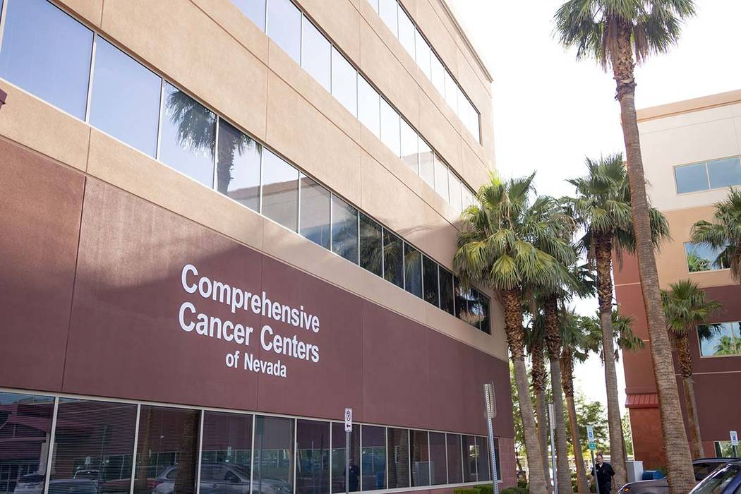 Comprehensive Cancer Centers of Nevada is considering leaving its headquarters in Henderson for ...