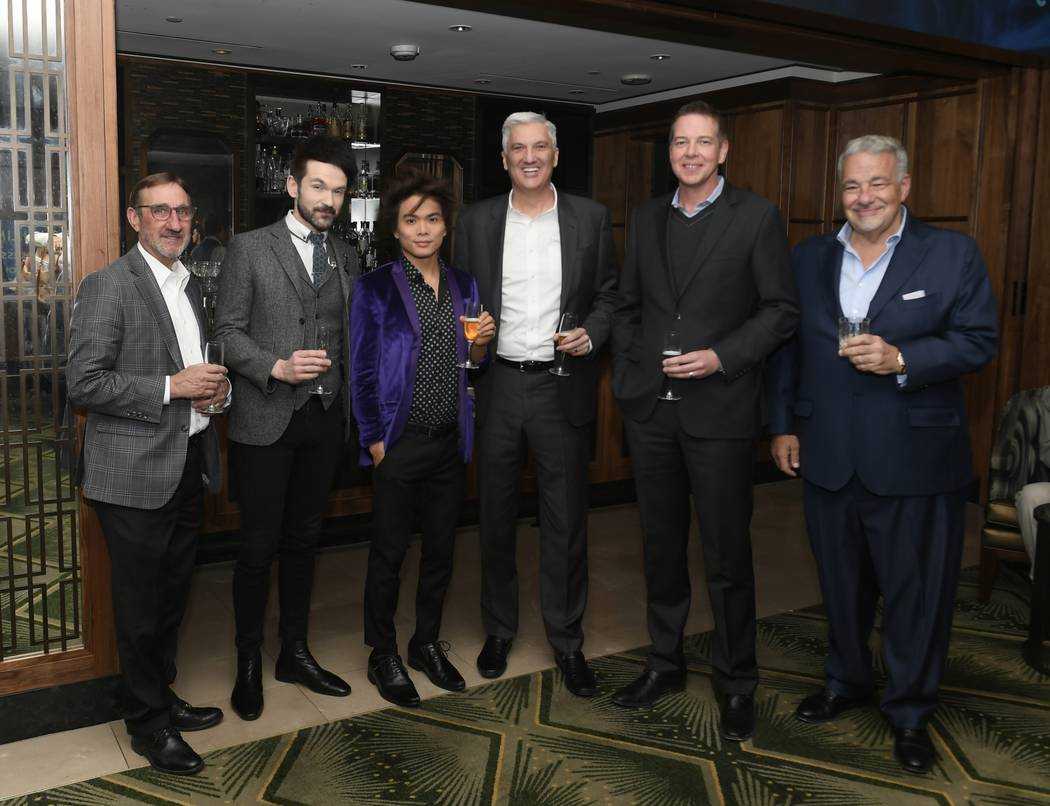 MGM Resorts International Vice President of Entertainment Booking James Trudeau, forensic mind- ...