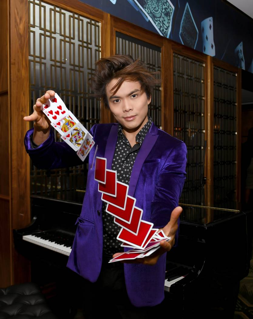 """Two-time """"America's Got Talent"""" champ Shin Lim has extended his residency at the Mirage through ..."""