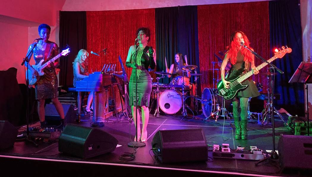 Every Woman Band performs at the Stirling Club at Turnberry Place on Wednesday, Oct. 30, 2019. ...