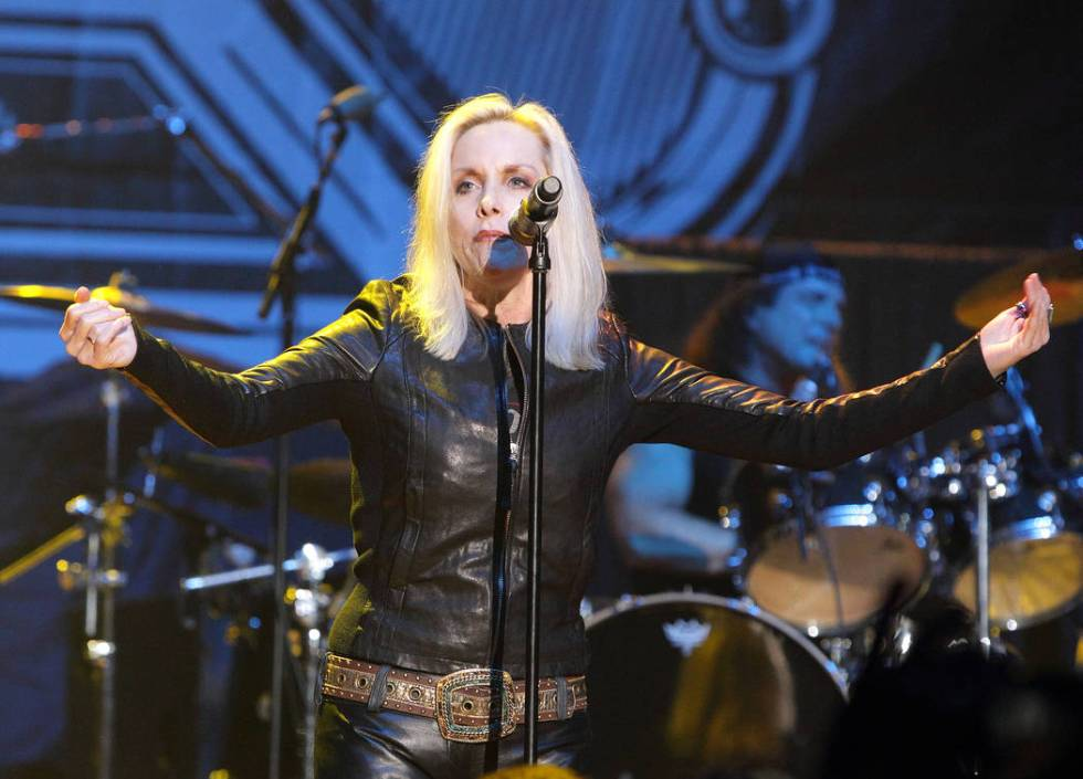 Cherie Currie performs in concert during the M3 Rock Fest at Merriweather Post Pavilion on Frid ...