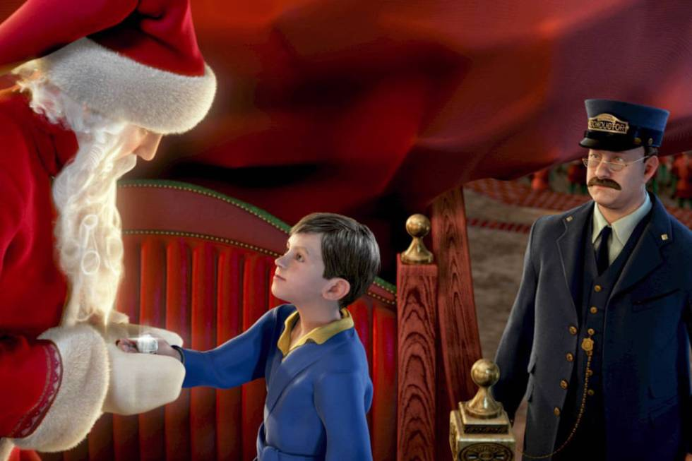 """A Scene from ""The Polar Express."" (Warner Bros. Pictures)"