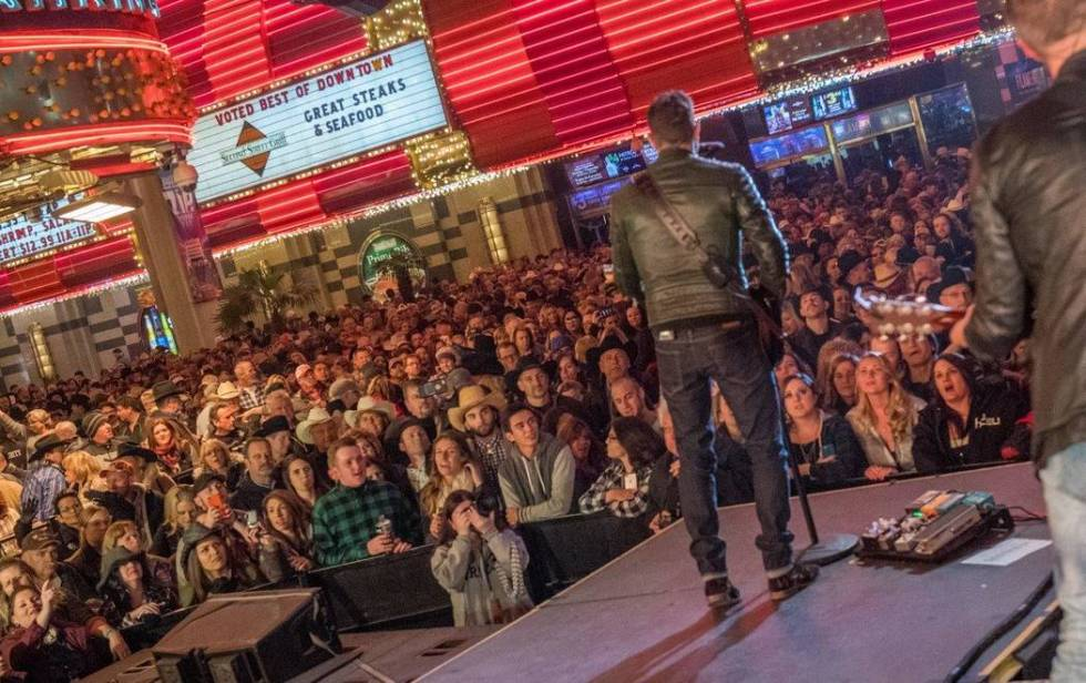 The Downtown Hoedown on Fremont Street in downtown Las Vegas returns for National Finals Rodeo. ...