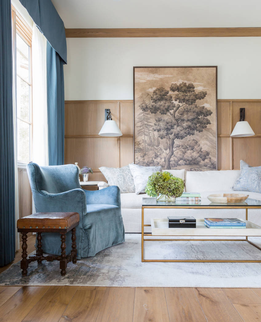 Heirloom furnishings and era-inspired classics such as velvet and rich textures are still influ ...