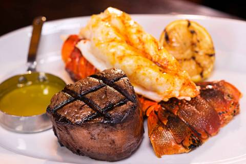 Alder & Birch serves four cuts of house steaks and three cuts of prime steaks. (Boyd Gaming)