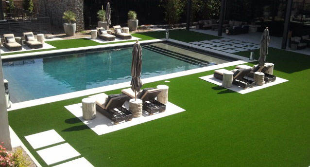Synthetic turf isn't cheap, but the long-term maintenance-free part has many people at least ...