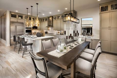 Trilogy in Summerlin will offer homebuyers incentives throughout November to celebrate the 20th ...