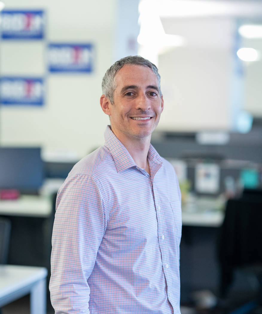 Greg Schultz, national campaign manager for Joe Biden's 2020 campaign for president. (Photo cou ...