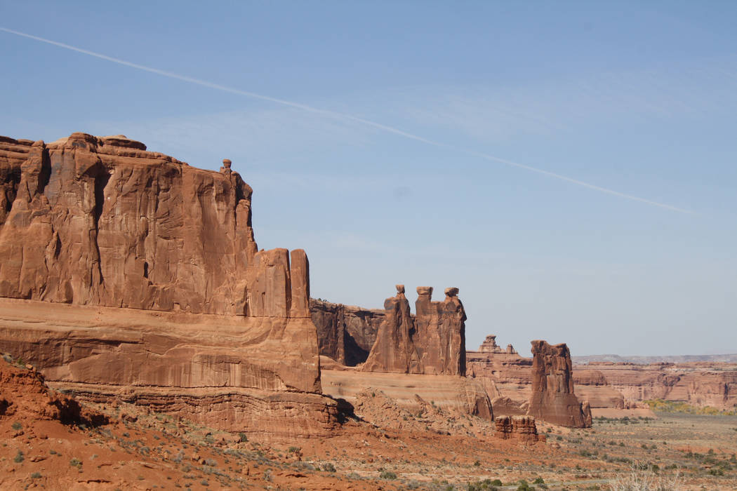 Outdoors Adventures Near Las Vegas Arches National Park