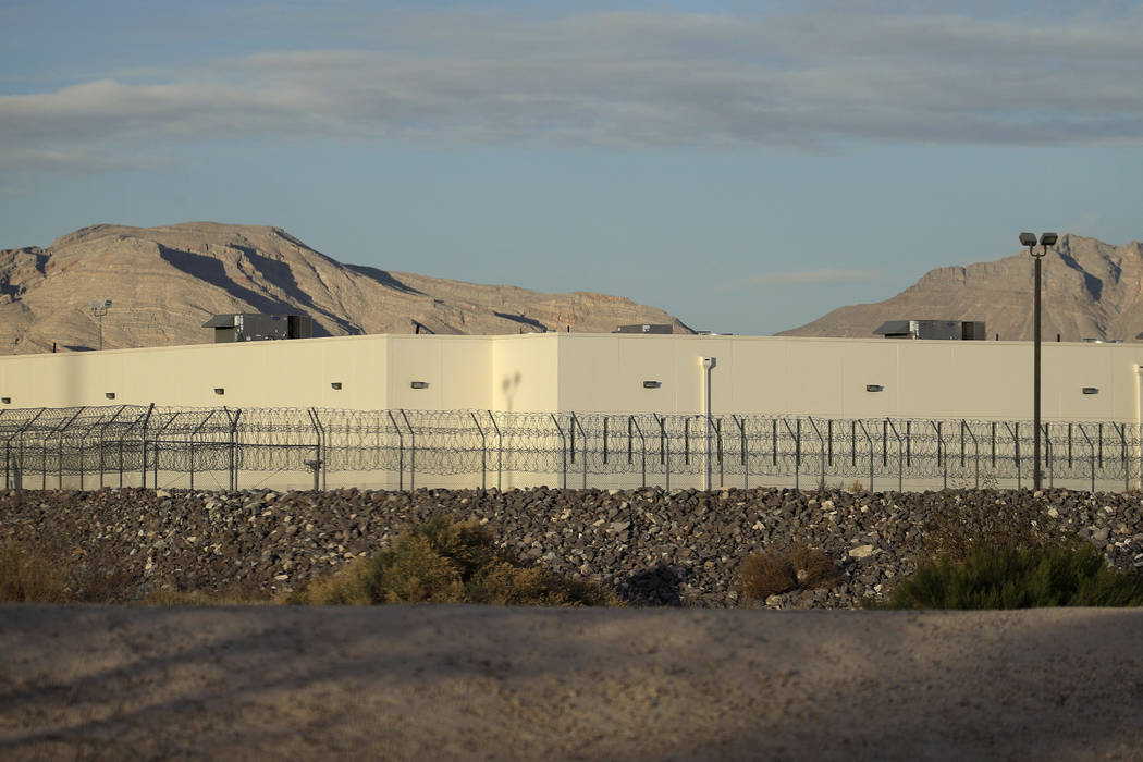 The Florence McClure Women's Correctional Center in Las Vegas, seen in 2017. (John Locher/AP)
