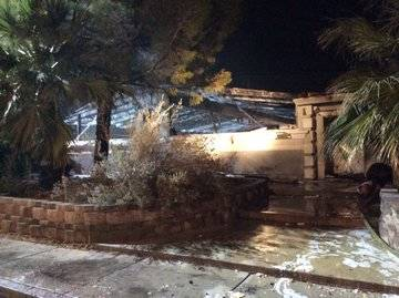 A single-story residence sustained major damage in a two-alarm fire at 1403 South 6th St. not f ...