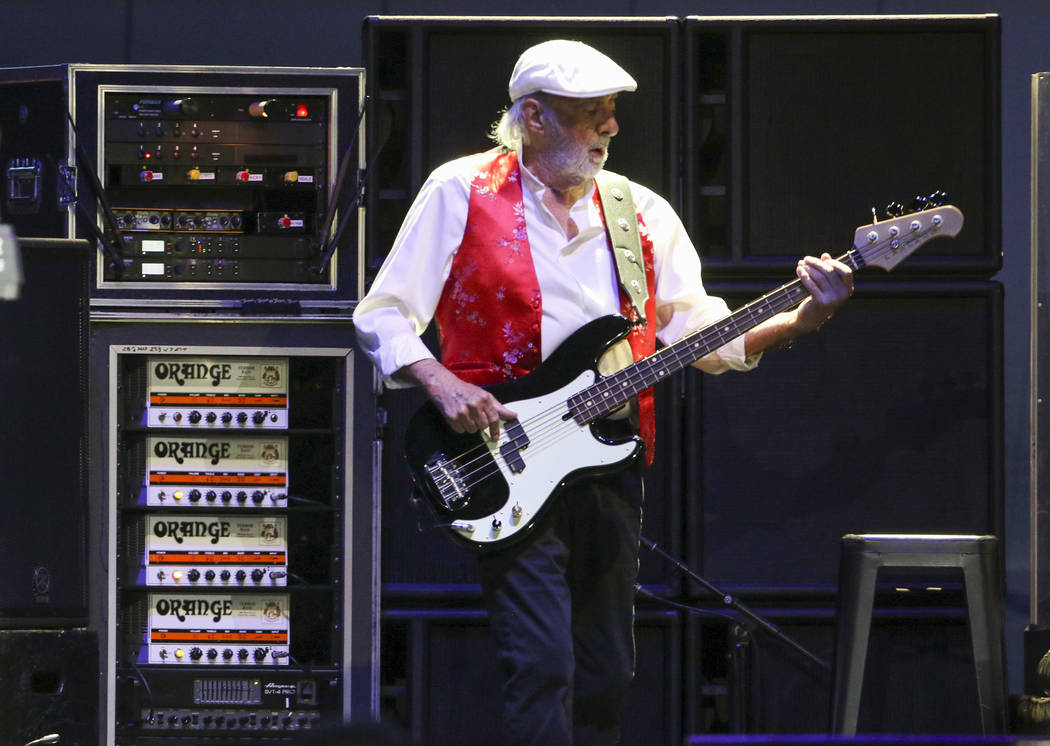 John McVie with Fleetwood Mac performs at State Farm Arena on Sunday, March 3, 2019, in Atlanta ...