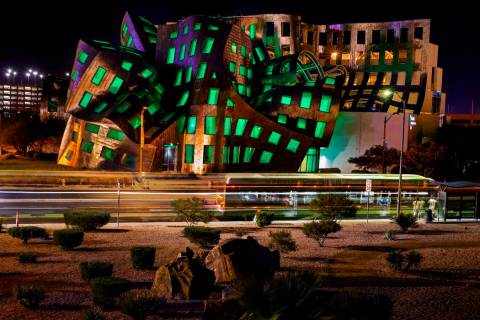 The Cleveland Clinic Lou Ruvo Center for Brain Health in downtown Las Vegas (L.E. Baskow/Las Ve ...