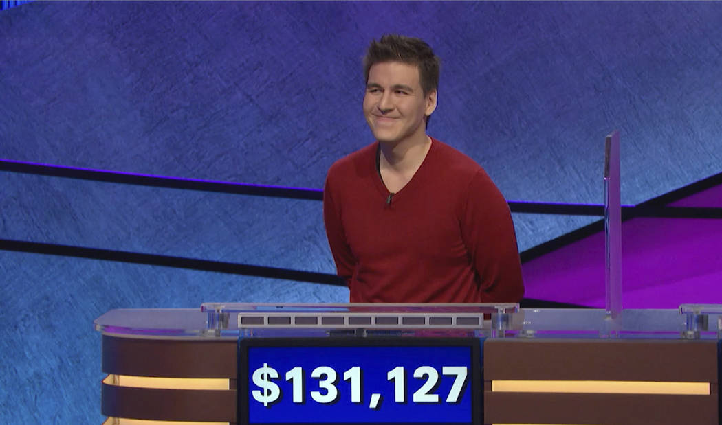 "FILE - This file image made from video and provided by Jeopardy Productions, Inc. shows ""Jeopar ..."