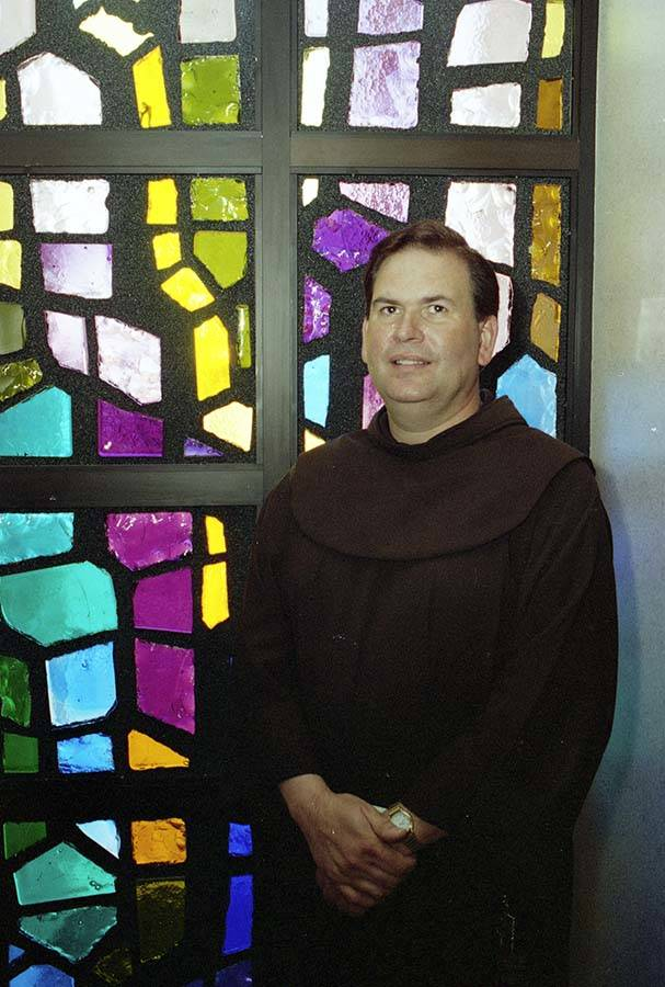 Franciscan friar and Catholic schoolteacher Brother Andre Le May worked at the Shrine of the Mo ...