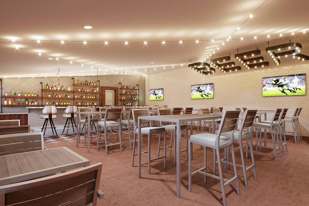 Ellis Island rendering Beer garden second floor bar. (Ellis Island)