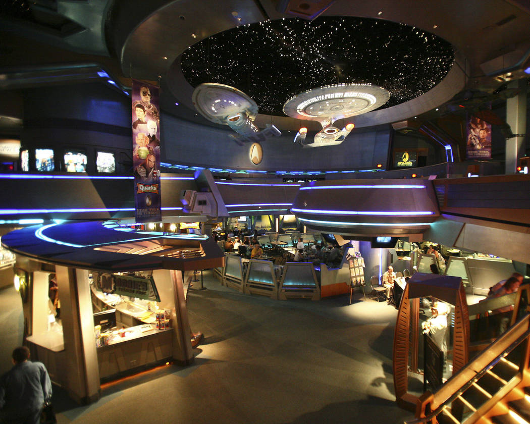 """""""Star Trek: The Experience"""" ran for 11 years at the Las Vegas Hilton (now the Westgate). (Revie ..."""