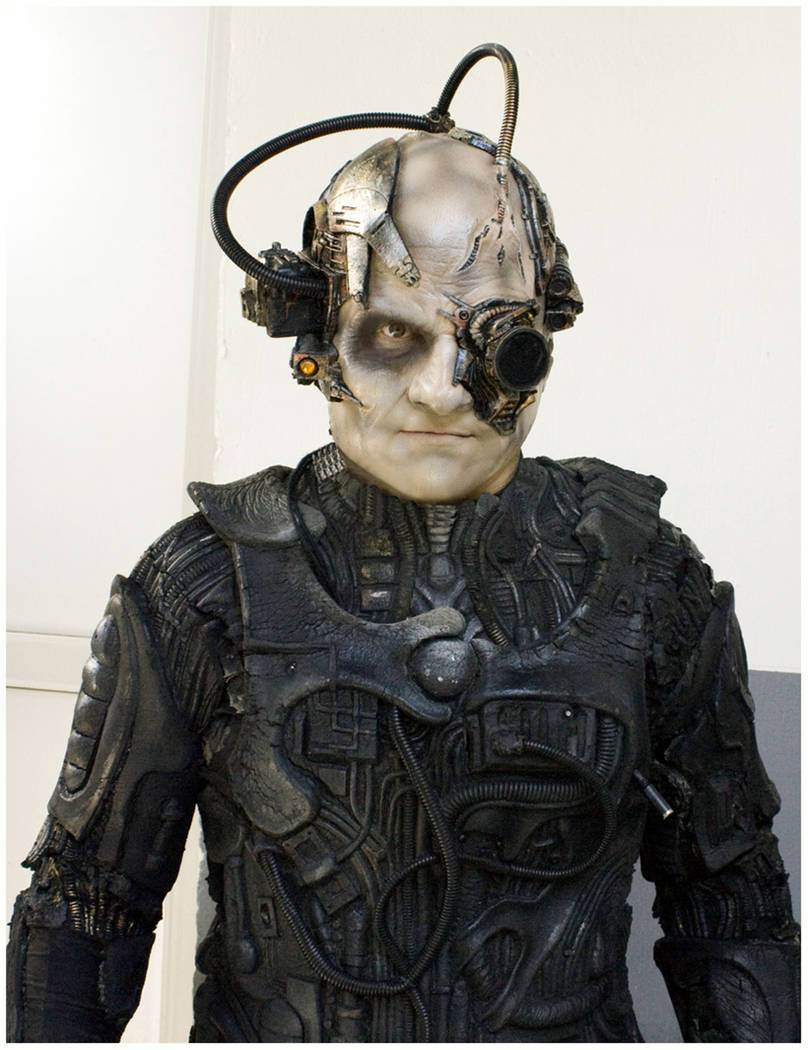 """Vernon Wilmer portrayed a Borg in """"Star Trek: The Experience."""" (Review-Journal file photo)"""