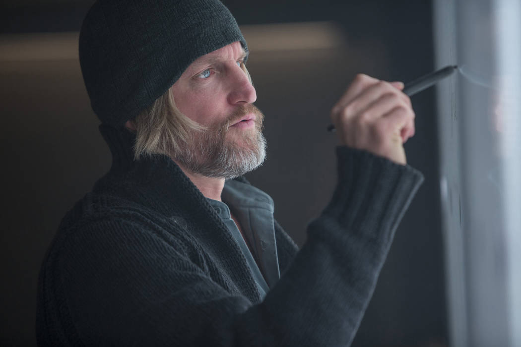 Woody Harrelson stars as 'Haymitch Abernathy' in The Hunger Games: Mockingjay Part 1. (Lionsgate)
