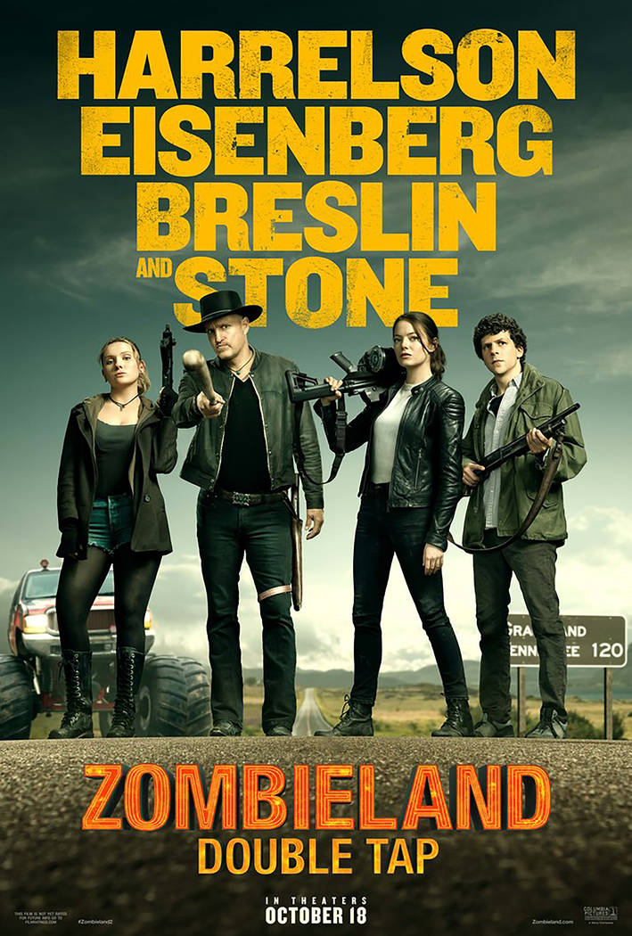 """Zombieland: Double Tap"" (Sony Pictures)"