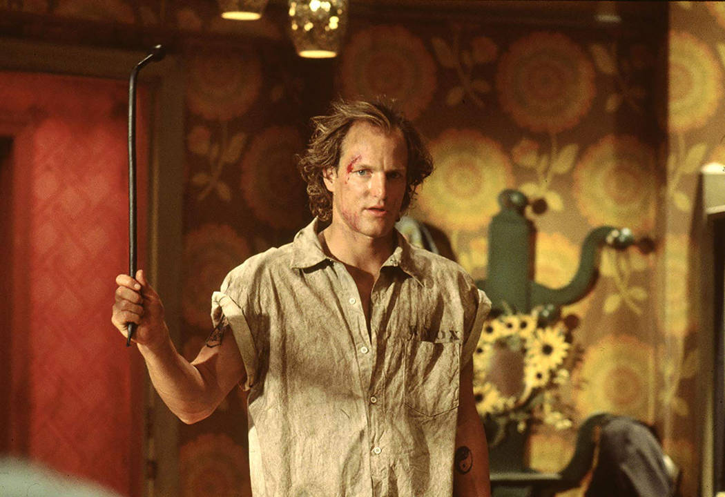 """Woody Harrelson in """"Natural Born Killers"""" (Warner Bros.)"""