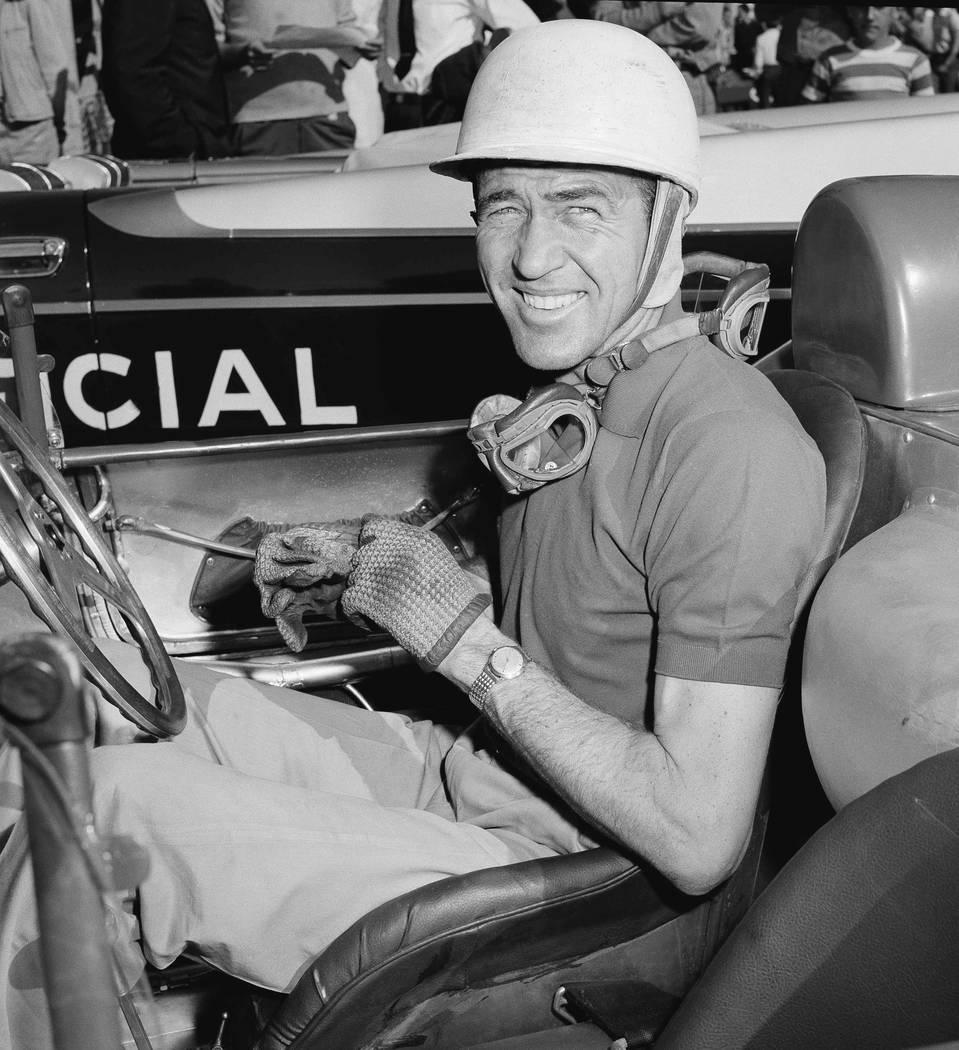 American auto racing legend Carroll Shelby at Havana Grand Prix time trials in Havana, Cuba, Fe ...