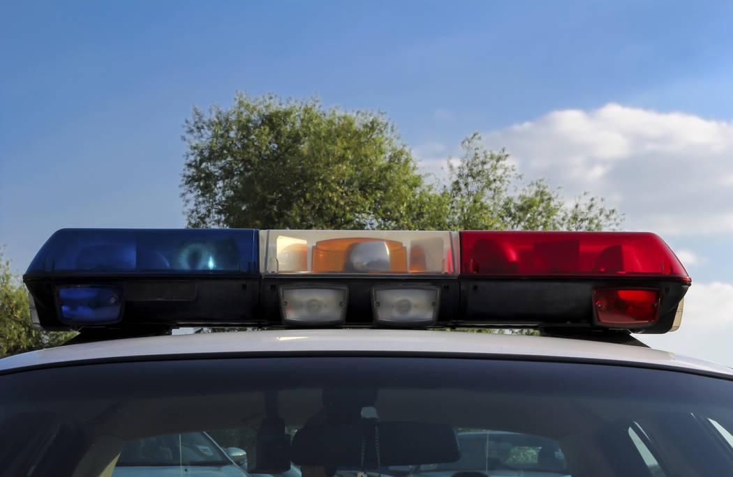 Police car lights (Thinkstock)