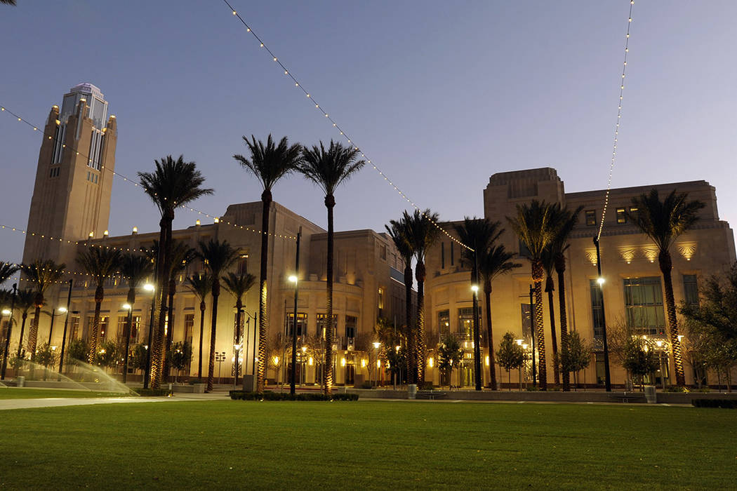 The Smith Center for The Performing Arts (Las Vegas Review-Journal/File)