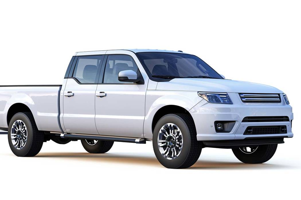 Las Vegas police say there has been a rise in thefts of large pickup trucks, specifically Ford ...