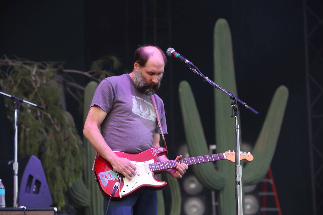 Built to Spill performs at The Sasquatch! Music Festival on Friday May 24, 2013 in George, Wash ...