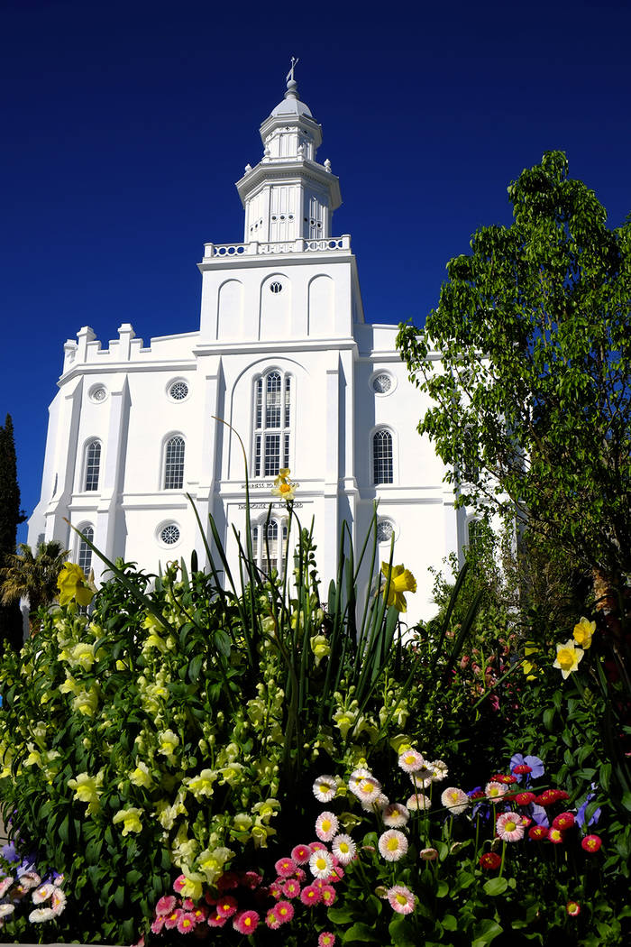 The Church of Jesus Christ of Latter-day Saints temple in St. George, Utah. The temple will be ...