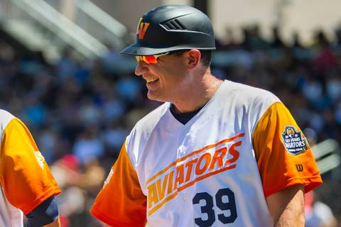 Las Vegas Aviators manager Fran Riordan, seen in April. (L.E. Baskow/Las Vegas Review-Journal) ...