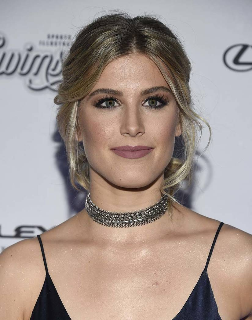 Eugenie 'Genie' Bouchard attends the Sports Illustrated Swimsuit 2017 launch event at Center415 ...